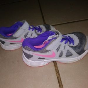 Other - Girls Nike size 12c Tennis Shoes